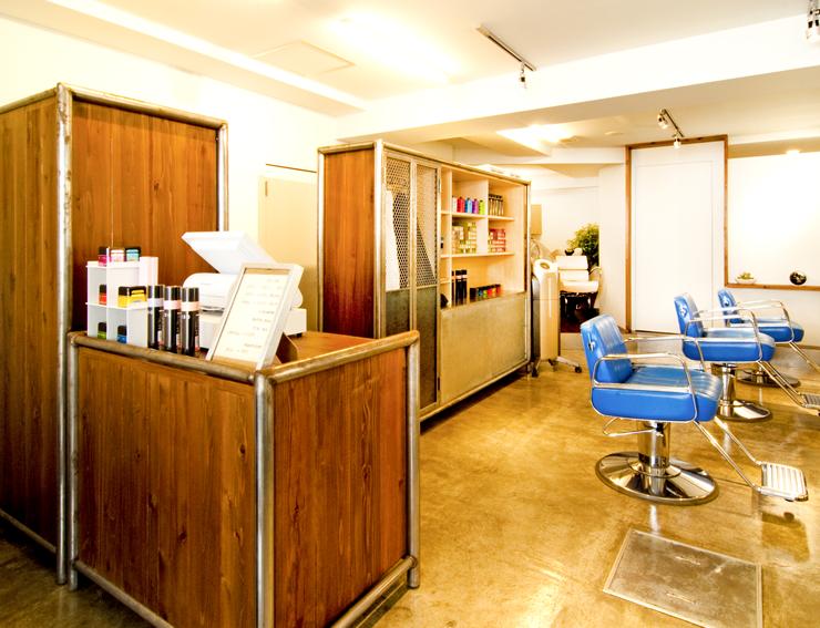 高田馬場 美容室・美容院 店内写真